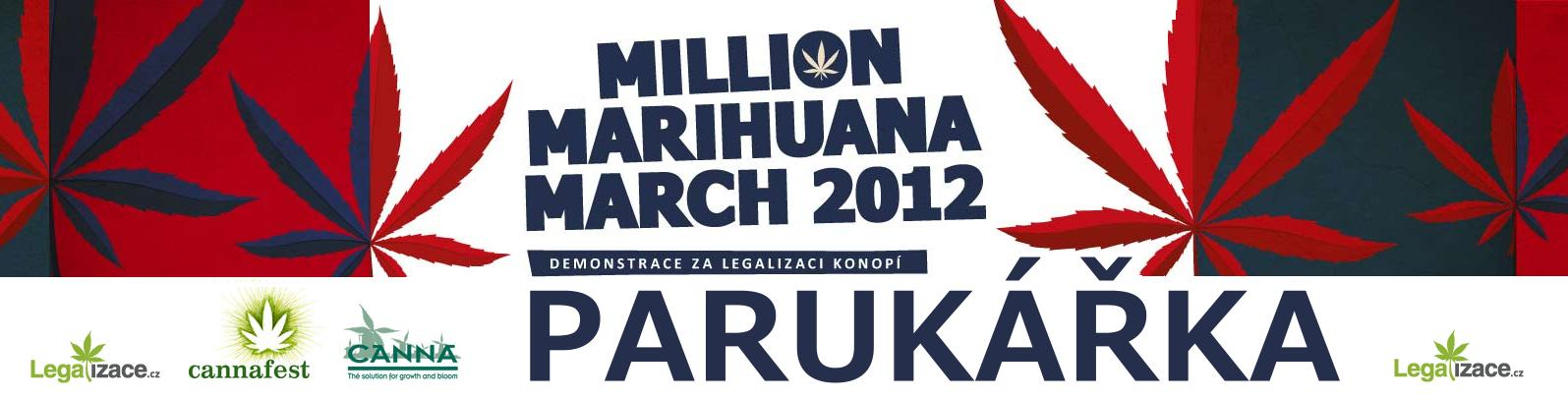 Million Marihuana March  Paruk��ka 2012